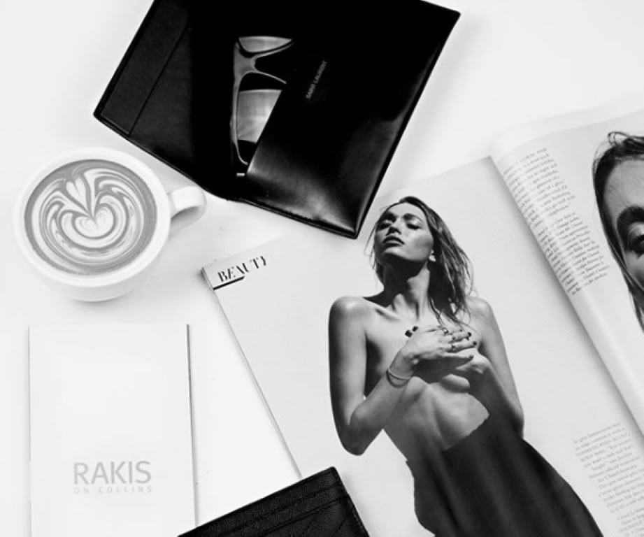 Enjoy a cuppa over a consultation at Rakis on Collins